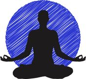 Yoga logo Stock Photo