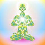 Yoga Lotus Lizenzfreie Stockfotos