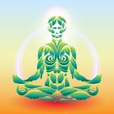 Yoga Lotus Stockfotografie