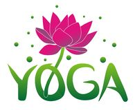 Yoga and lotus flower. Hinduism philosophy. vector illustration