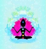 Yoga lotus pose. Stock Photography