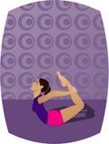 Yoga-Mädchen Lizenzfreie Stockfotos