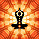 Yoga - méditation Photo stock