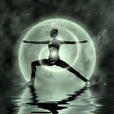 Yoga magica Immagini Stock Libere da Diritti