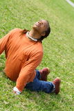 Yoga Man Stock Photography