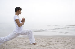 Yoga man Royalty Free Stock Photo
