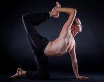 Yoga man Royalty Free Stock Images