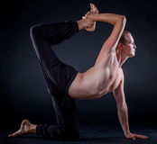 Yoga man Royalty Free Stock Photography