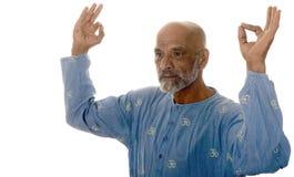 Yoga master Royalty Free Stock Images
