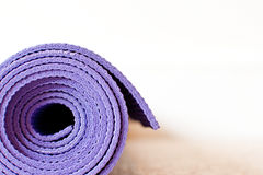 Yoga mat Stock Images