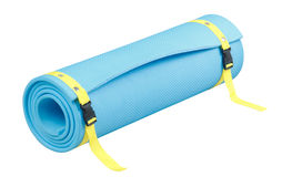 Yoga mat isolated  Stock Images