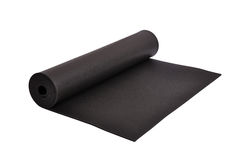 Yoga mat Stock Image