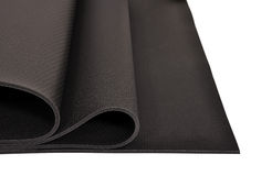 Yoga mat Stock Photography