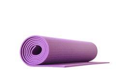 Yoga mat isolated Royalty Free Stock Photography
