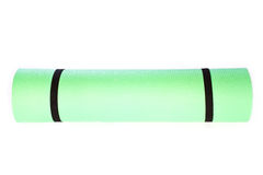 Yoga Mat roll  on white background Royalty Free Stock Images