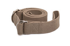 Yoga Mat Strap to carry mat and perform deep stretches Royalty Free Stock Photography