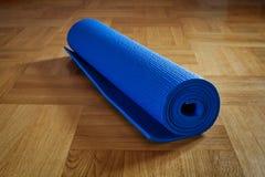 Yoga mat Stock Photography