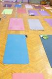 Yoga mats Stock Photography