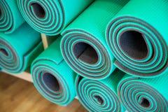 Yoga Mats Stock Photos