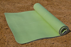 Yoga-Matte Stockbild