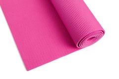 Yoga-Matte lizenzfreie stockbilder