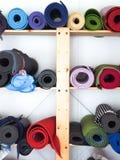 Yoga-Matten stockbild