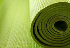 Yoga mattress Royalty Free Stock Photography