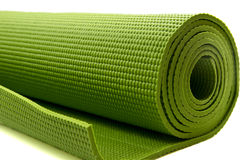 Yoga mattress Royalty Free Stock Images