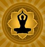 Yoga - meditación Foto de archivo libre de regalías