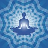 Yoga - Meditatie Stock Foto
