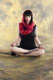 Yoga-Meditation Stockfotografie