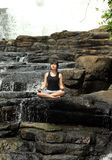 Yoga or meditation Stock Photography
