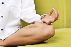 Yoga meditation Royalty Free Stock Images