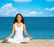 Yoga meditation Royalty Free Stock Photos