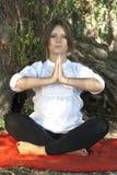 Yoga meditation Royalty Free Stock Image