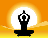Yoga -  Meditation Stock Photography