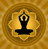 Yoga - Meditation Lizenzfreies Stockfoto