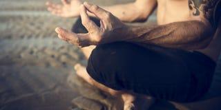 Yoga Meditation Concentration Peaceful Serene Relaxation Concept. Yoga Meditation Concentration Peaceful Serene Relaxation Stock Image