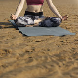 Yoga Meditation Concentration Peaceful Serene Relaxation Concept Royalty Free Stock Photos