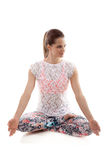 Yoga meditation Royalty Free Stock Images