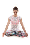 Yoga meditation Stock Image