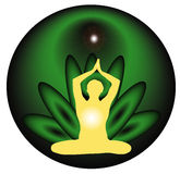Yoga meditation Royalty Free Stock Photography