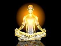 Yoga Meditation pose Stock Image