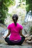 Yoga meditation for relax Royalty Free Stock Photos