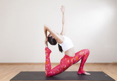 Yoga meditation Stock Photography