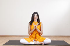 Yoga meditation Stock Photo
