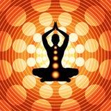 Yoga - meditazione illustrazione di stock