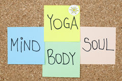 Yoga Mind Body Soul Royalty Free Stock Images