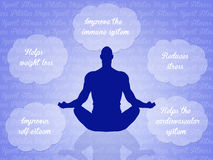 Yoga motivations Stock Image