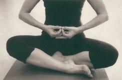 Yoga Mudra 2 Imagen de archivo libre de regalías